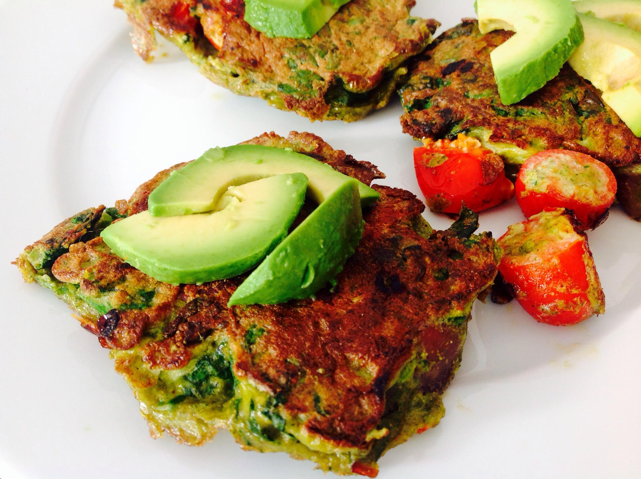 Salami-Spinat Paninili