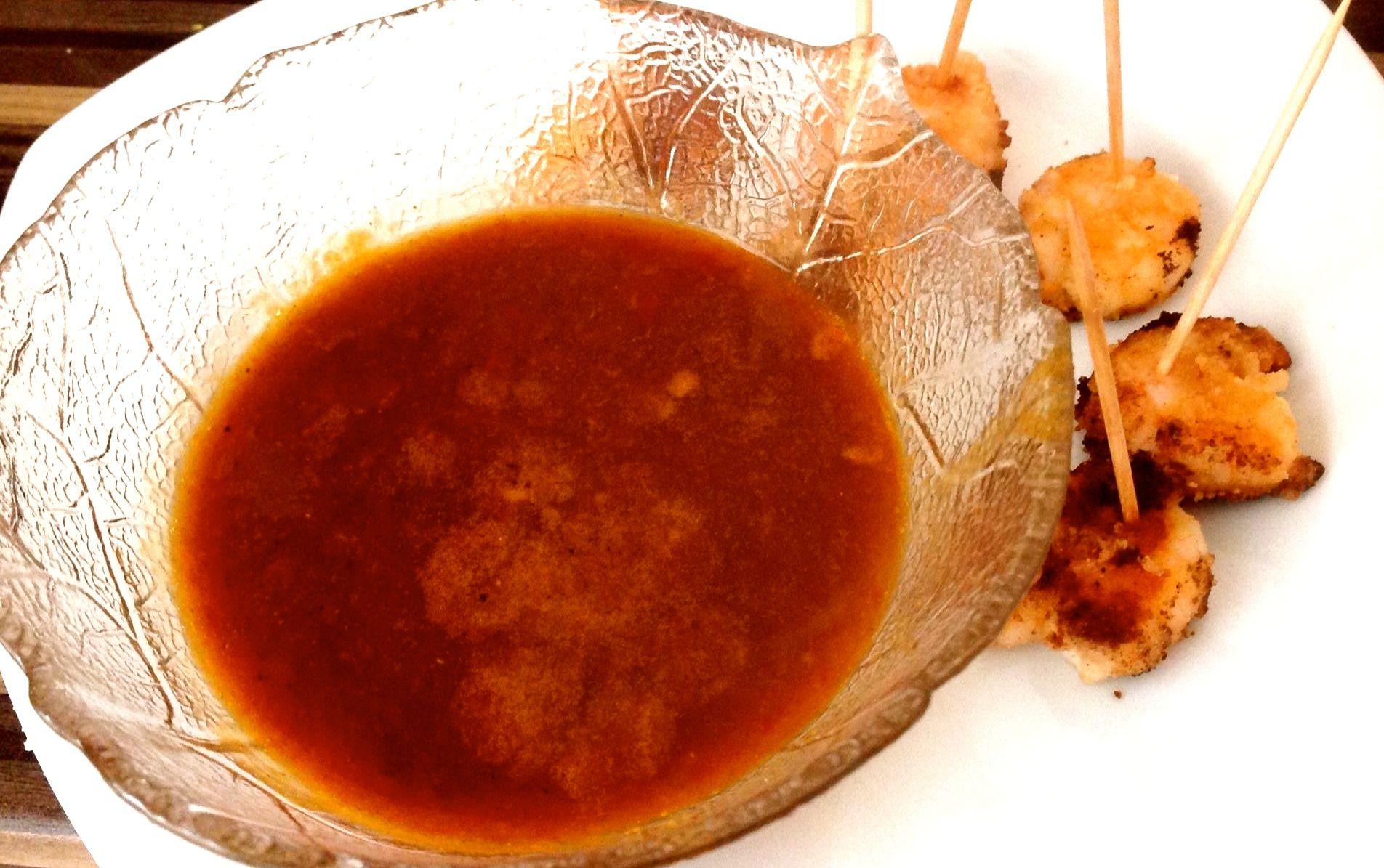 Garnelenund Teryaki Soße