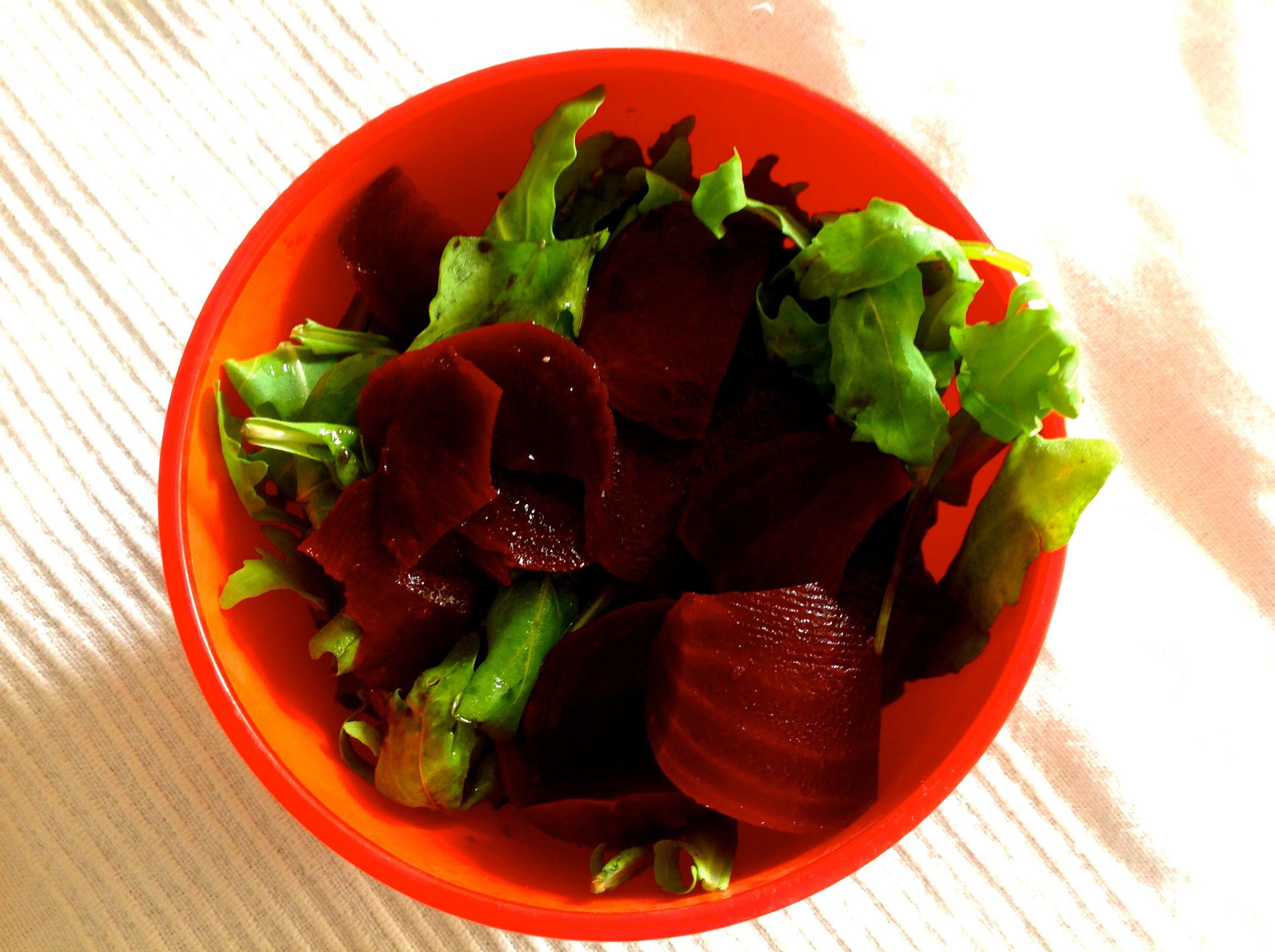 Ruccola Rote Beete Salat