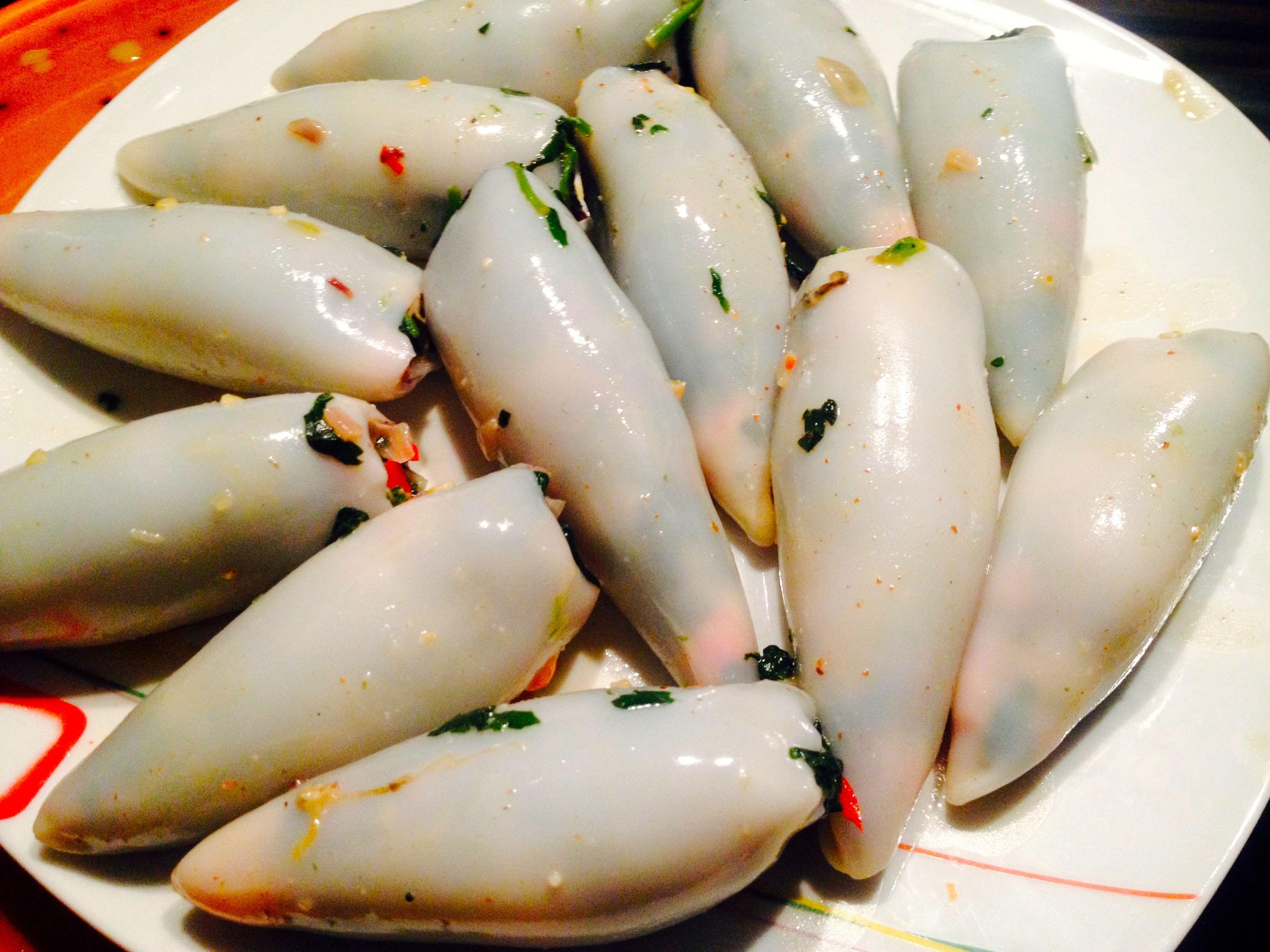 Gefüllte Spinat-Calamari Tuben 15